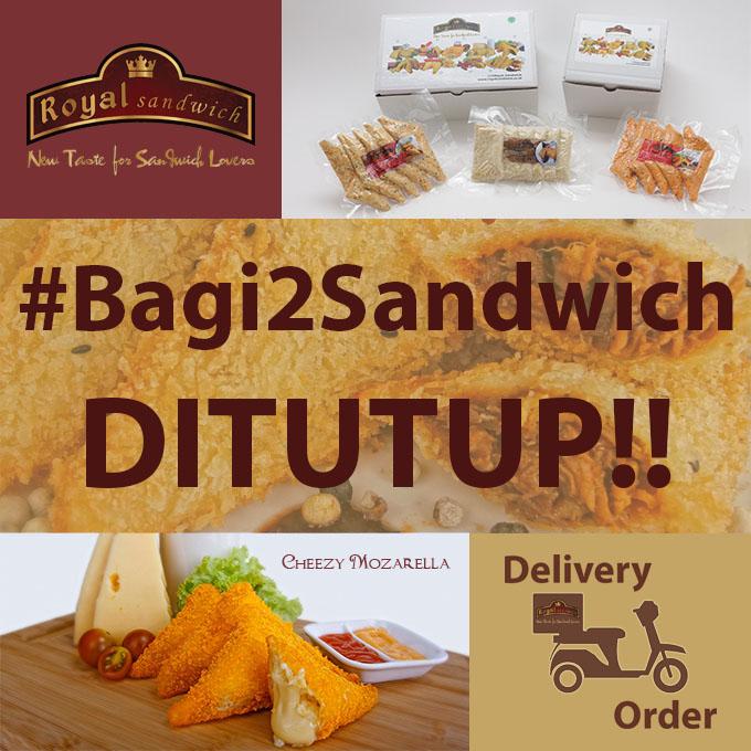 #Bagi2Sandwich DP BBM Ditutup!