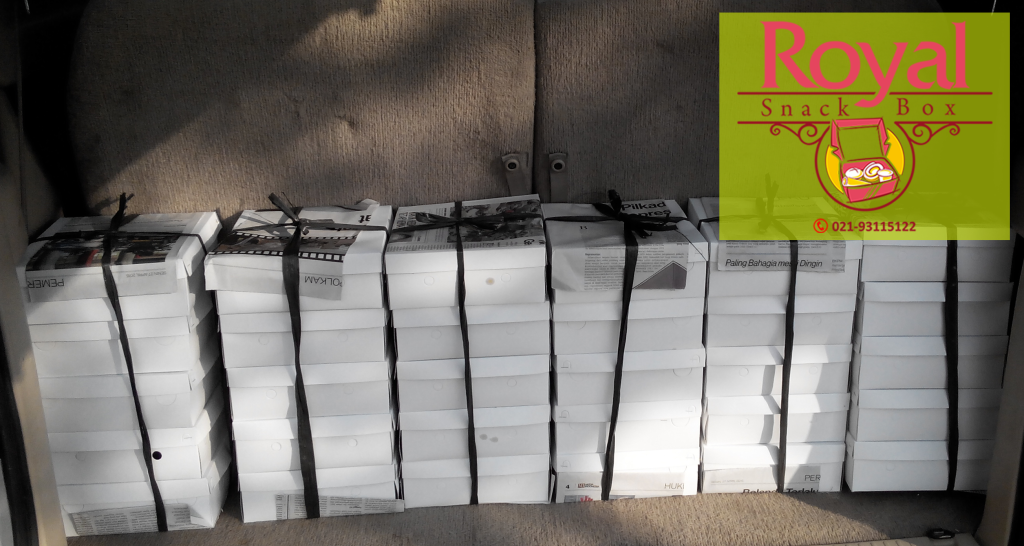 Nasi Box Pesanan Ibu Mus Aida di Ciputat, Tangerang Selatan