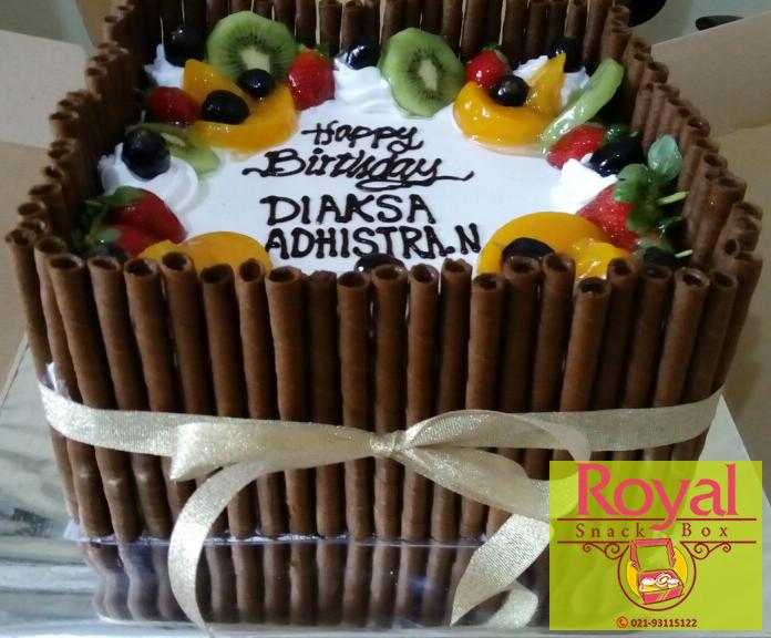 Pesanan Kue Ulang Tahun Ibu Rini di Kelapa Gading, Jakarta Utara