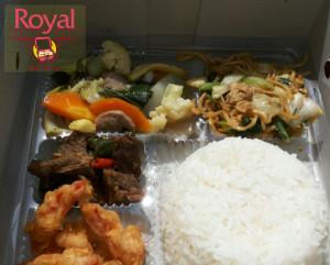 Nasi Kotak Pesanan Bapak Odi di Rasuna Said, Jakarta Selatan