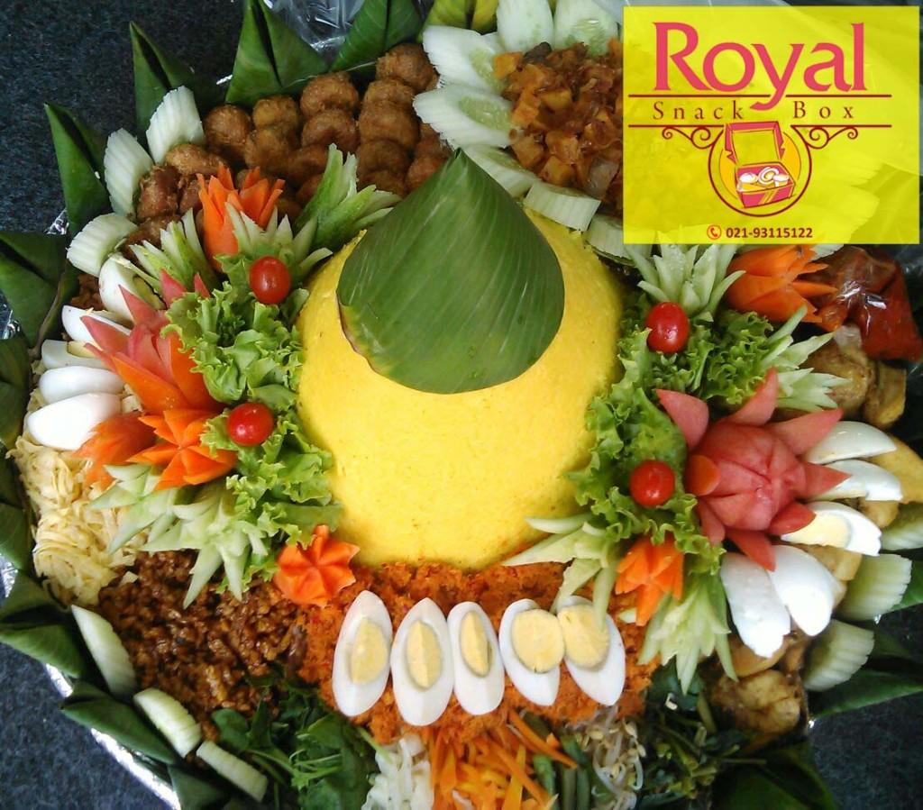 Nasi Tumpeng Pesanan Bapak Pascal di Bintaro, Tangerang Selatan