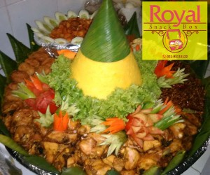 Pesanan Nasi Tumpeng Ibu Atni di Kali Besar, Kota