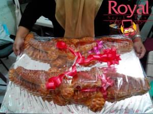 Pesanan Roti Buaya Ibu Yuliani di Pondok Kelapa, Jakarta Timur