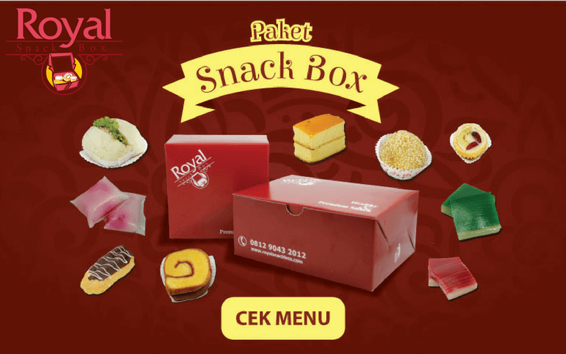 Pesan Snack Box di Kalibata