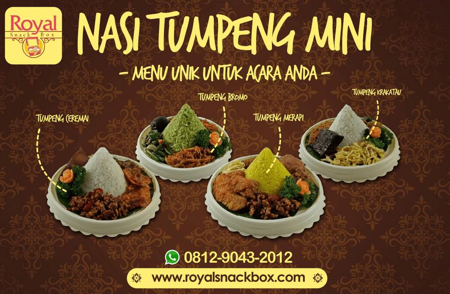 Nasi Tumpeng Mini di Jakarta Pusat