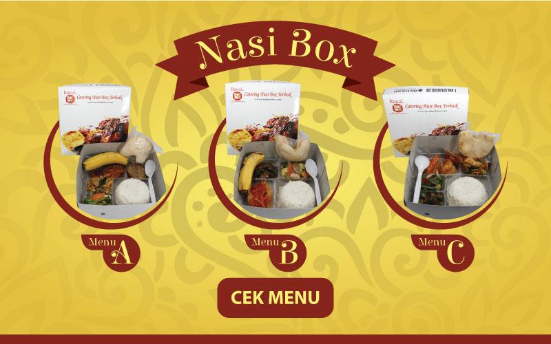 Pesan Nasi Box di Jakarta Pusat