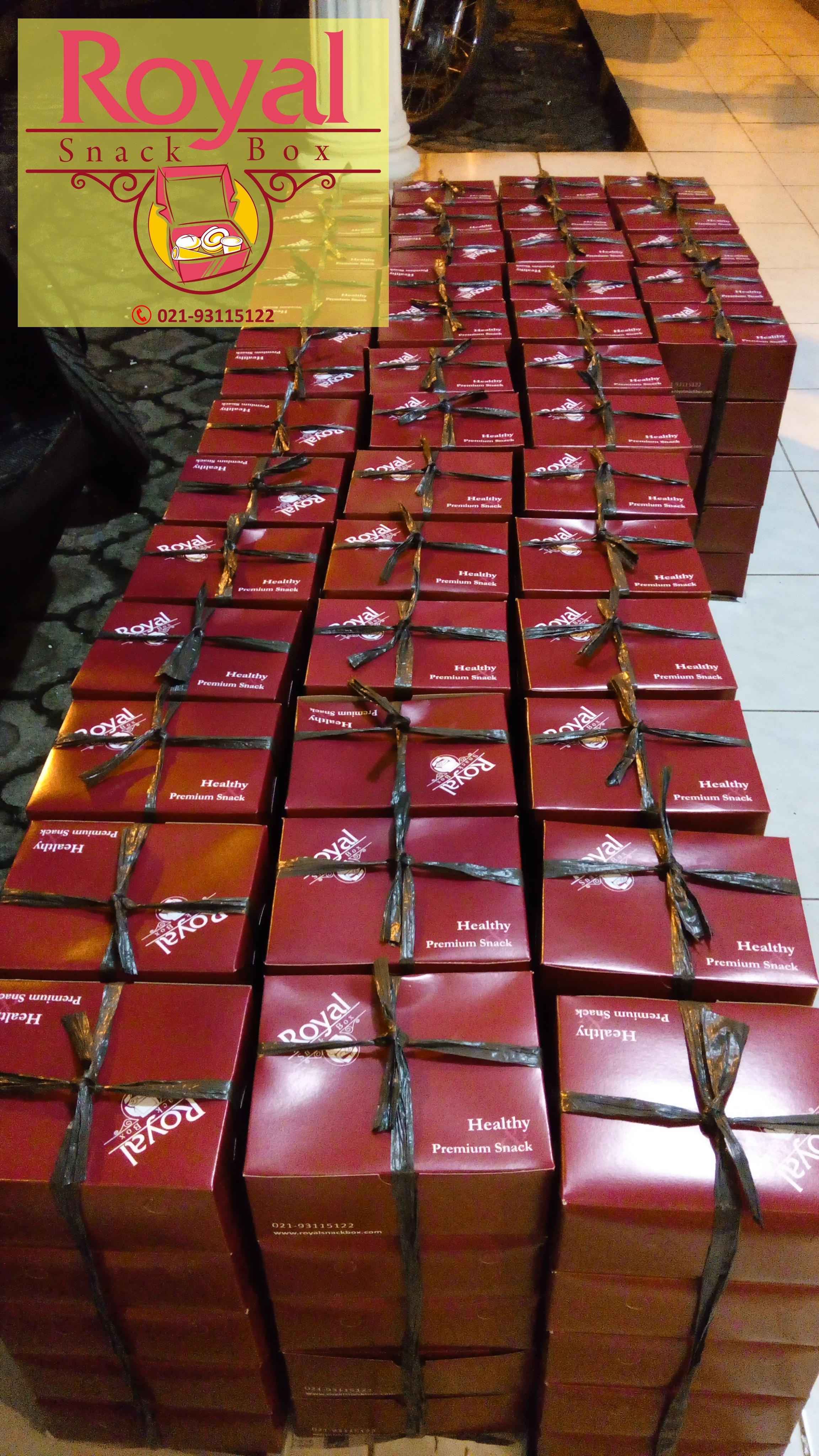 Snack Box Pesanan Ibu Marina di Kelapa Gading Barat, Jakarta Utara