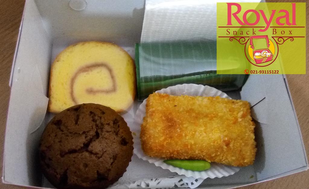 Snack Box Pesanan Ibu Novita di Thamrin, Jakarta Pusat