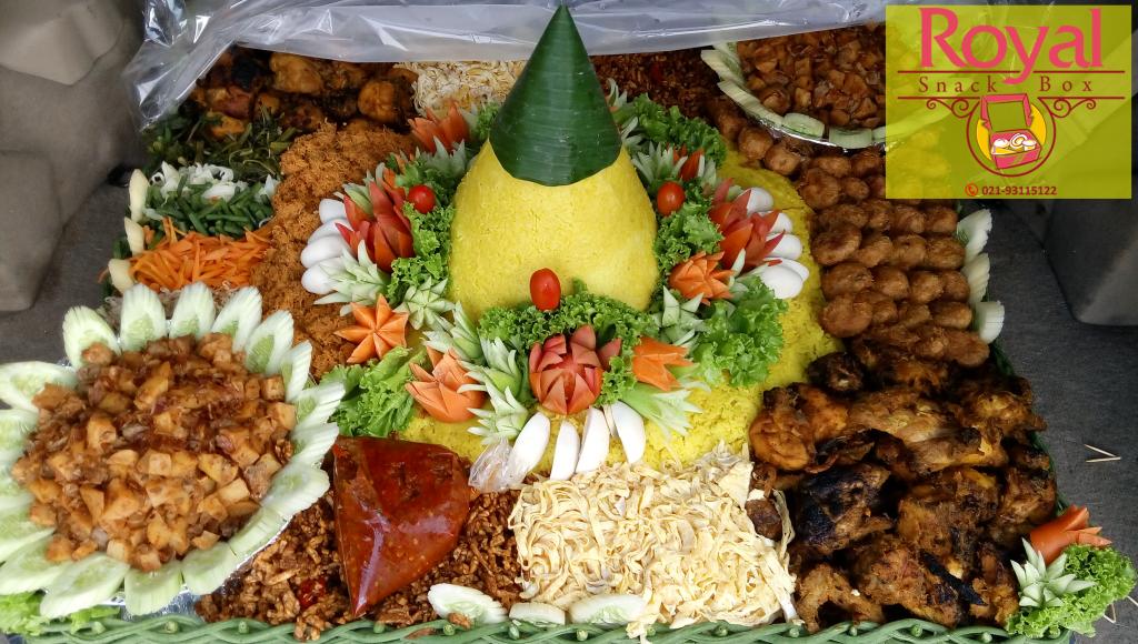 Pesanan Nasi Tumpeng Ibu Moudia di Pulo Gadung, Jakarta Timur