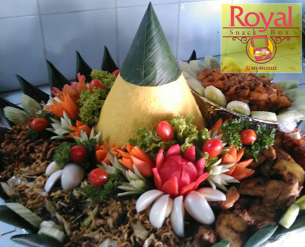 Nasi Tumpeng Pesanan Bapak Heri di Summarecon, Bekasi