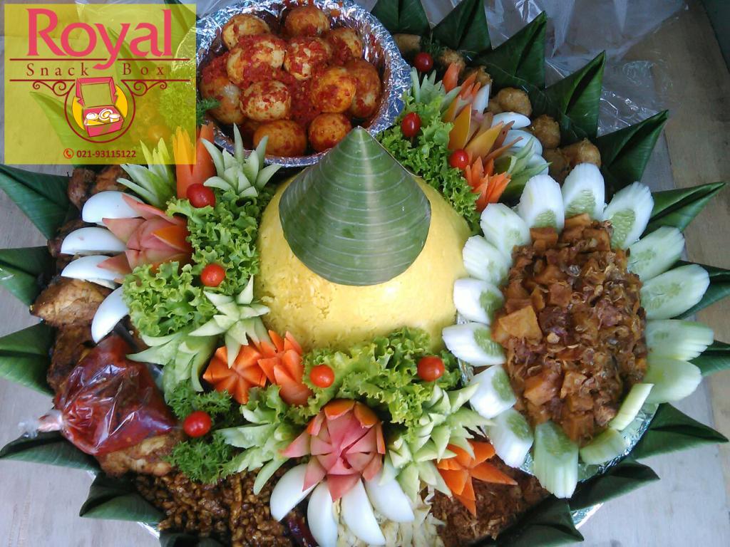 Pesanan Nasi Tumpeng Ibu Joice di Cipaku, Bogor Selatan