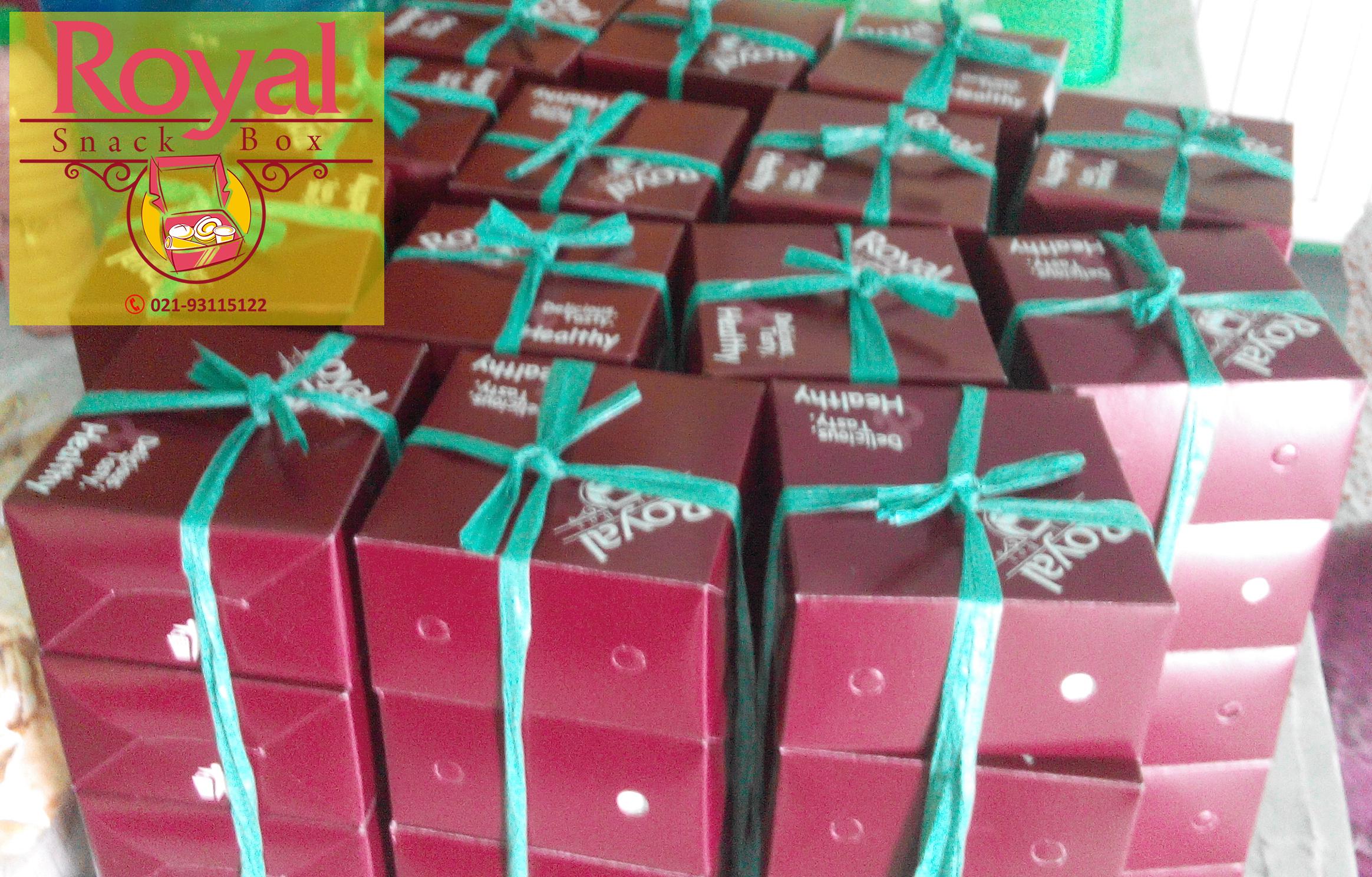 Snack Box Pesanan Bapak Duta di Cibitung, Bekasi