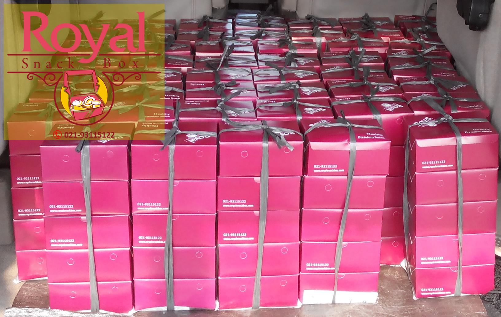 Snack Box Pesanan Ibu Junnita di Jl. Medan Merdeka Barat, Jakarta Pusat