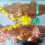 Pesanan Roti Buaya Pak Febri di Kranji , Bekasi