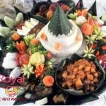 Nasi Tumpeng Pesanan Mba Ilona di Mampang , Jakarta Selatan