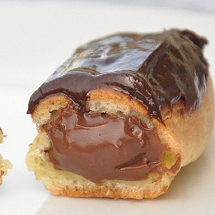 Resep Soes Eclaire Coklat