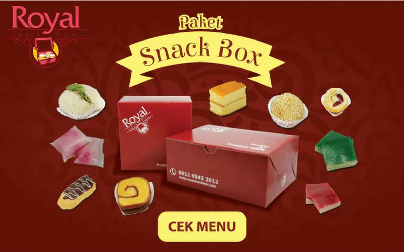 Pesan Snack Box di Percetakan Negara