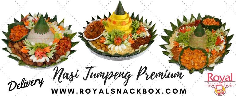 Pesan Nasi Tumpeng di Mampang