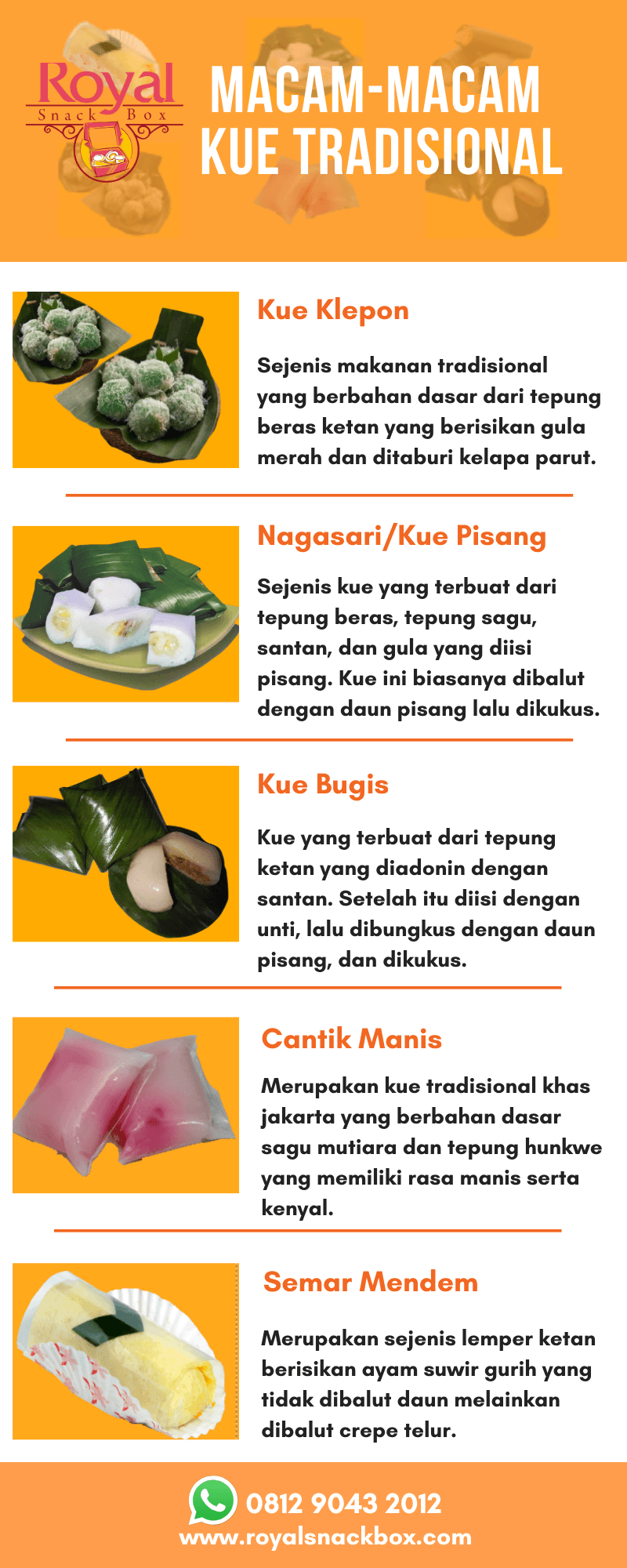 Infografik Kue Tradisional RSB