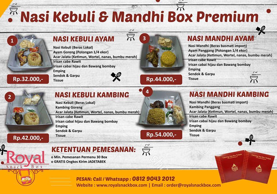 Nasi Box Kebuli RSB