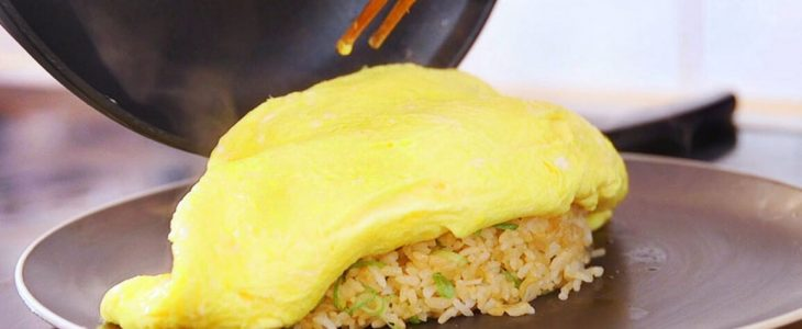 Cara Membuat Nasi Omelet Khas Jepang